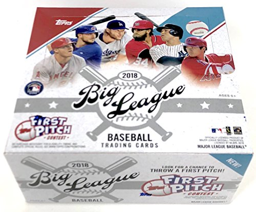 Large Product Image of Topps 2018 Big League Baseball Retail Display Box
