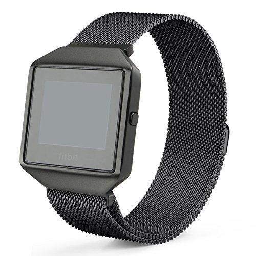 Fitbit Blaze Band with New Metal Frame Hagibis Mil…
