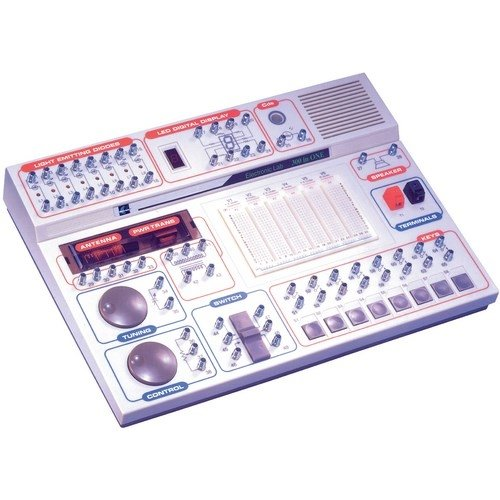 Elenco MX-908, Maxitronix 300-in-1 Electronic Project Lab, 3 -