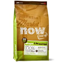 Now 152313 Fresh Grain Free Small Breed Adult Dog Food, 25-Pound Bag by NOW