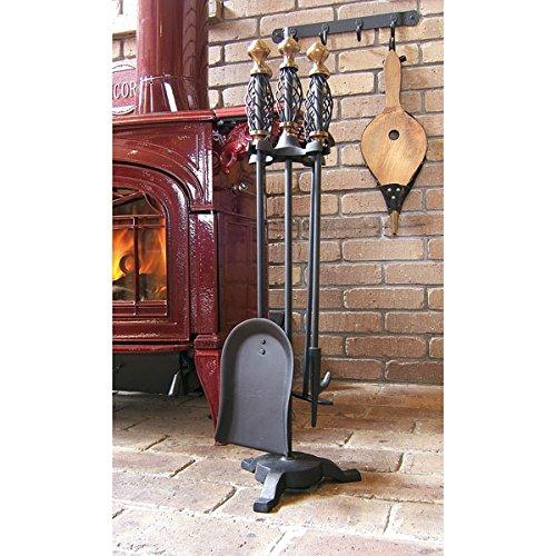 ファイヤーツール:ツイストツールセット[暖炉薪ストーブ用品] ノーブランド品 B06XKBNWG3 14882
