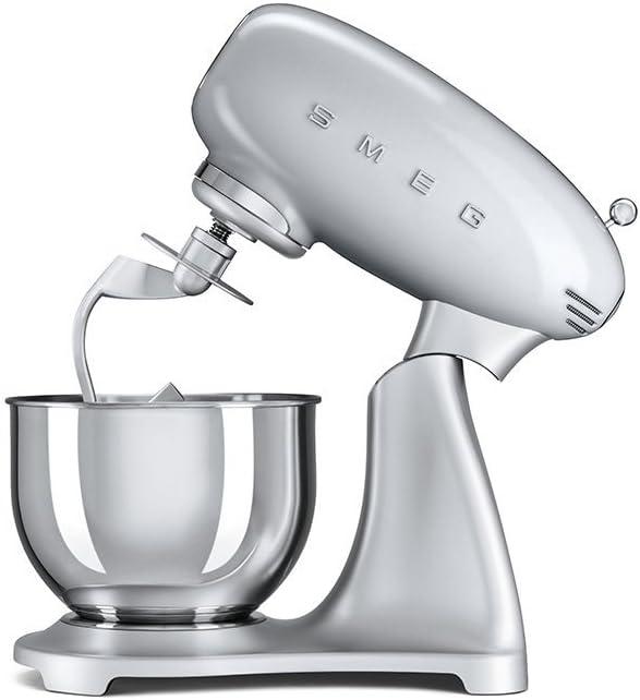 Smeg 50 s Retro Style Robot de cocina polarsilber metálico: Amazon.es