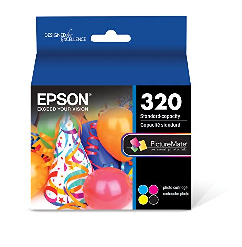 - Epson T320 PictureMate Color Cartridge Ink