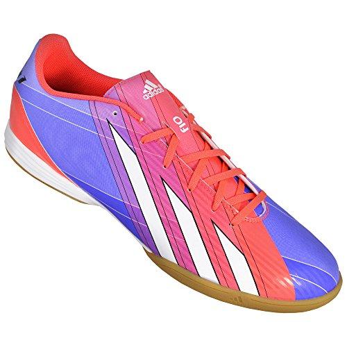adidas - Zapatillas para deportes de interior para hombre Azul-Rojo