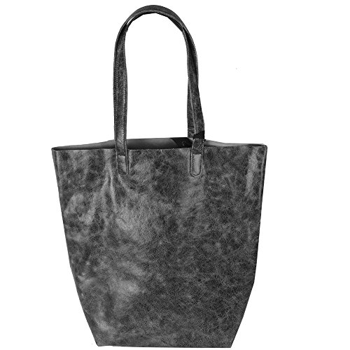 Latico Lennox Tote Bag, Crunch Grey, One Size Credit Crunch Christmas