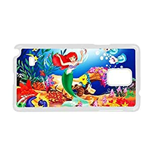 Printing The Little Mermaid For Galaxy Note 4 Samsung Hard Back Phone Case For Girl Choose Design 3