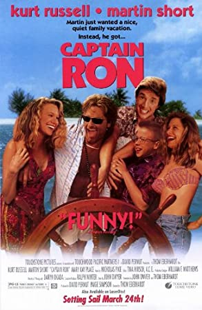 Captain Ron 11 x 17 Movie Poster - Style A