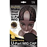 (6 Pack) Qfitt - Center Parting U-Part Wig Cap #5013