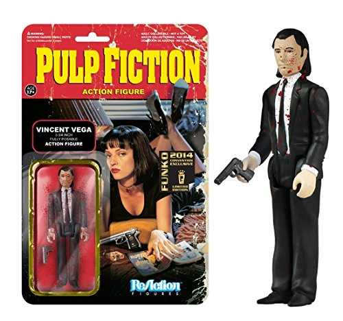 Funko Pulp Fiction - ReAction Figure: Blood Splattered Vincent Vega
