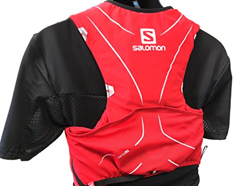 Salomon ADV SKIN 5 SET Sports Water Bottles, Surf the Web/Dress Blue, Medium/Large by Salomon (Image #1)