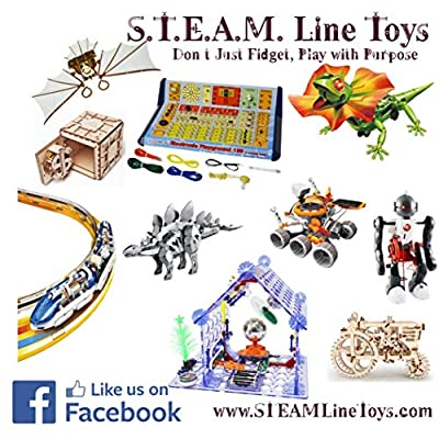 S.T.E.A.M. Line Toys Elenco WeMake 3-W Wire Stripper/Crimping 16-26AWG (HT-1042): Toys & Games