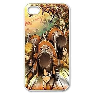 Custom Design Cartoons Manga Series iPhone 4/4S Case Attack on Titan Hard Plastic Cover iPhone 4/4S Case