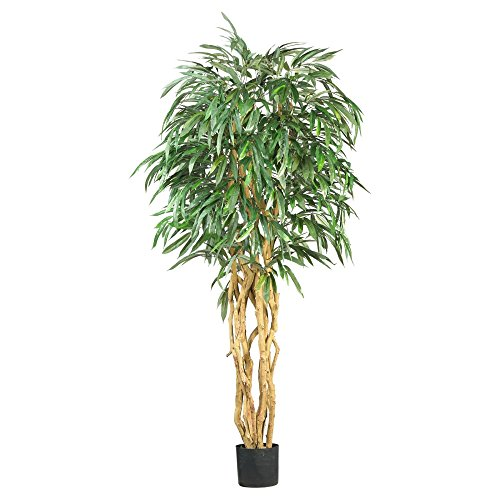 Nearly Natural 6 ft. Weeping Ficus Silk Tree