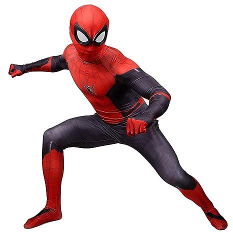 QQWE Traje Disfraces Spiderman Expedición Héroe Cosplay ...