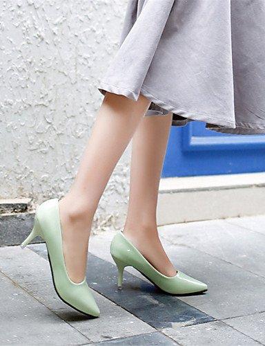 BGYHU GGX Damen Schuhe PU Stiletto Stiletto Stiletto Heel Hochzeit Outdoor Office & Karriere Party & Abend Kleid schwarz grün Rosa 837ae3