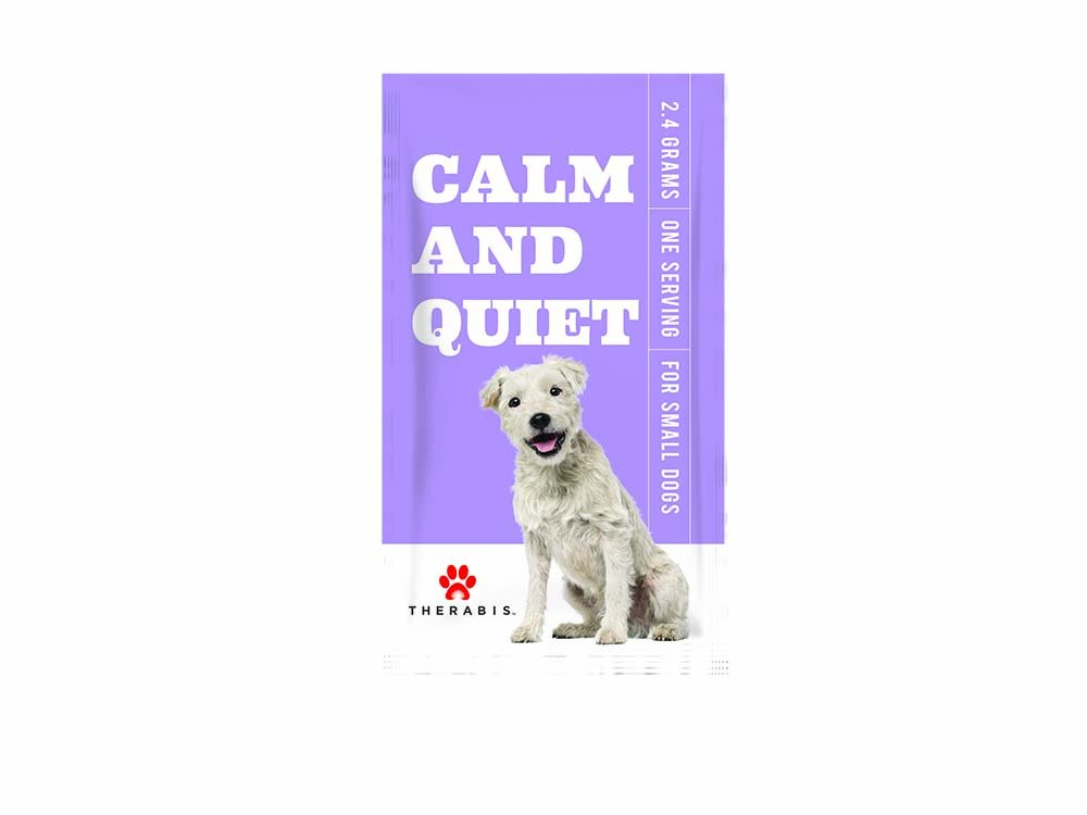 Therabis Calm and Quiet Meal Supplement (30-Pack, Small Dogs up to 20lbs)
