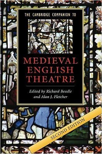Book The Cambridge Companion to Medieval English Theatre (Cambridge Companions to Literature) (2008-07-14)