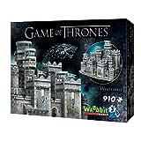 Wrebbit 3D - Game of Thrones Winterfell 3D Jigsaw