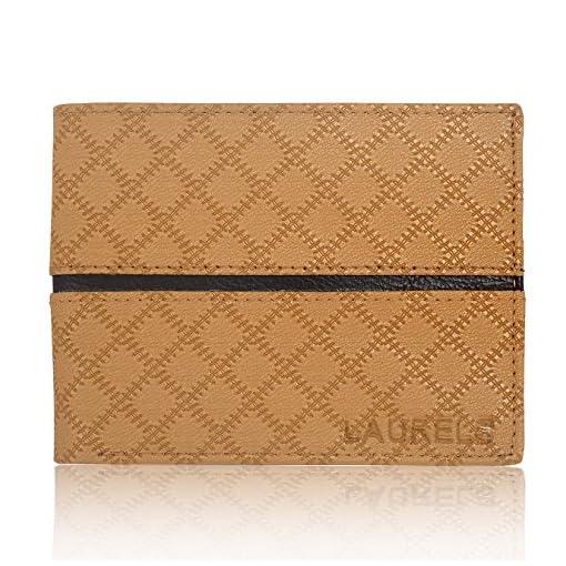 Laurels Cross II Tan Men's Wallet (LW-CRS-II-0602)