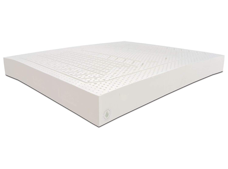 Baldiflex - Colchón de látex natural, funda extraíble, antiácaros, transpirable, almohada viscoelástica incluida, altura 20 cm: Amazon.es: Hogar