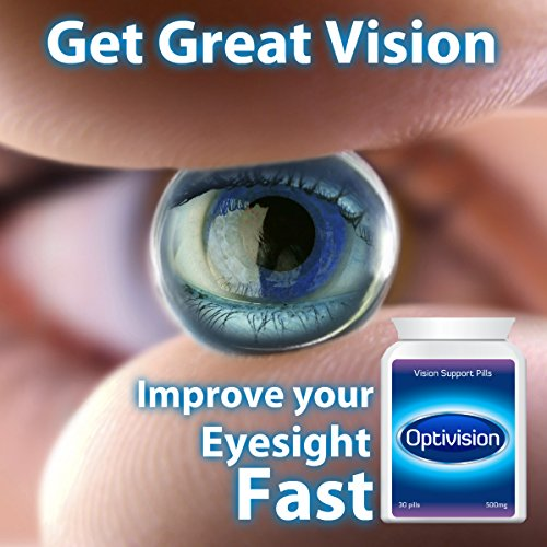 OPTIVISION VISION SUPPORT PILL EYE TABLETS GET SHARP PERFECT VISION HEALTHY EYE -
