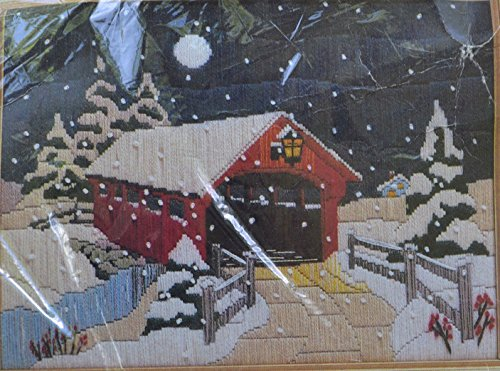 - The Creative Circle Longstitch Needlepoint Kit 2520 Snow Covered Bridge