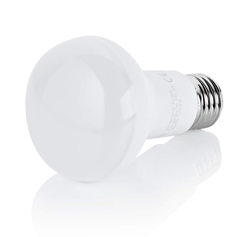 10 x LED Leuchtmittel Reflektor R80 8W = 60W E27 matt warmweiß 2700K flood 120°