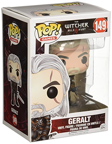 Funko Pop!- Geralt Figura de Vinilo, coleccion de Pop, seria The Witcher (6366)
