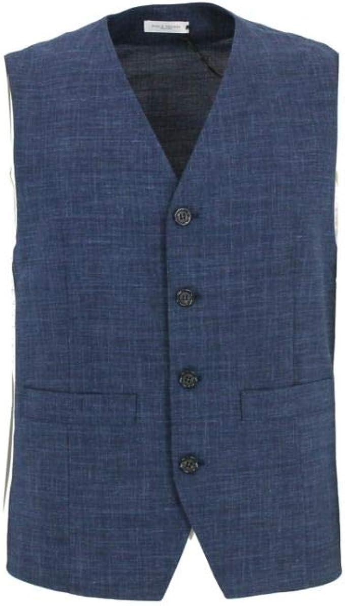 PAOLO PECORA Luxury Fashion Uomo Q02352556388 Blu Cotone