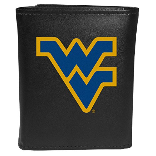 - Siskiyou Sports NCAA West Virginia Mountaineers Tri-Fold Wallet Large Logo, Black