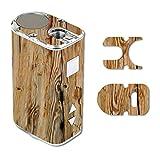 Eleaf iStick 10W Mini Vape E-Cig Mod Box Vinyl DECAL STICKER Skin Wrap / Wood Rustic Light Wooden Background
