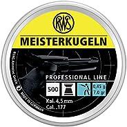 Umarex USA 2315034 .177 Caliber 7 Grains per 500 RWS Meisterkugeln Pistol Pellets