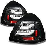 pontiac grand prix brake light - 04-08 Pontiac Grand Prix Black Bezel Rear LED Tail Lights Brake Lamps Replacement Pair Left + Right