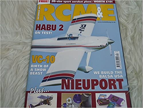 R C M & E Model world magazine december 2012 free plan sport aerobat