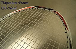 Genji Sports Trapezium Frame Badminton Racket Futabaya N900