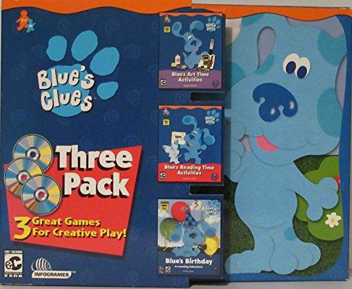 ATARI 23660 Blue's Clues 3 Pack Software Bundle for Kids ( Windows/Macintosh )