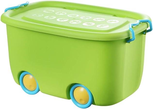 Caja de Almacenamiento de Fruta Verde Plástico Ropa Extra Grande Ahorros Juguetes Acabado de desechos: Amazon.es: Hogar