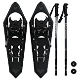 Winterial Premium Mountain Terrain Snowshoes, Backcountry Snowshoeing, Adult, 2018 MODEL!