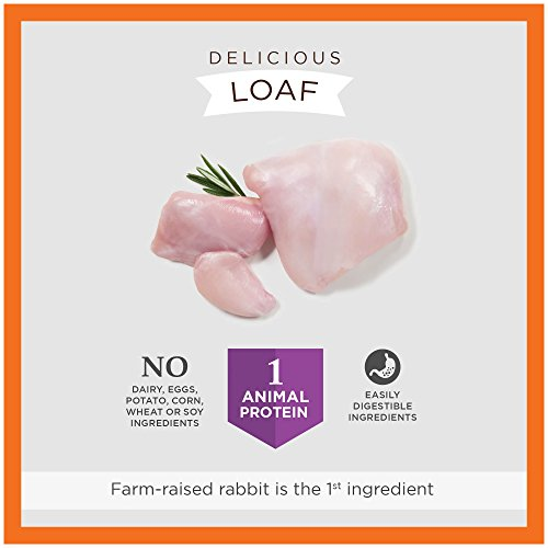 Instinct Limited Ingredient Diet Grain Free Real Rabbit Recipe Natural Wet Canned Dog Food by Nature's Variety, 13.2 oz. Cans (Pack of 6) by Instinct (Image #3)