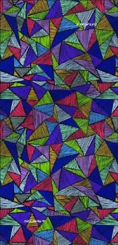 Fleece Lined Bandana (Seirus Innovation Snowdana Triangles Bandana, Multi, One Size)
