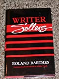 Writer Sollers, Roland Barthes, 0816616272