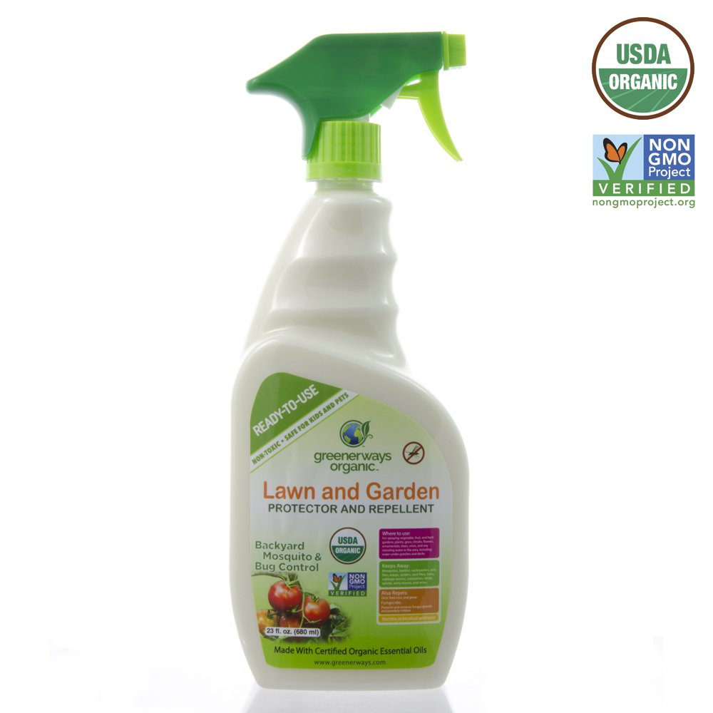 amazon com greenerways organic insecticide mosquito repellent