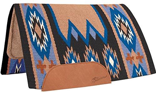 Reining Horse Shows (Wool Horse Show Blanket Laredo Navajo Saddle Pad 100% New Zealand Wool Top)