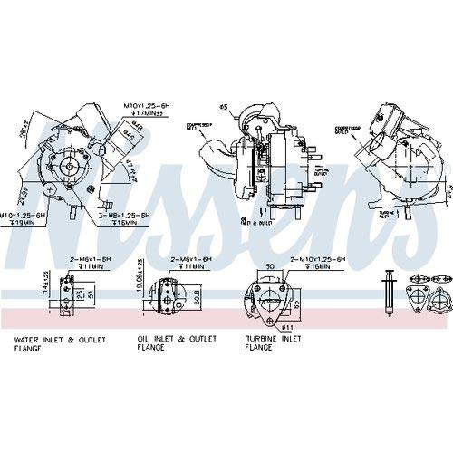 Nissens 93241 Turbo Charger: