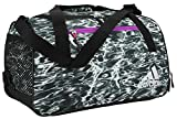 adidas Women's Squad Duffel Bag, Ponder/Black/Shock Purple/Shock Pink/White/Reflect, ONE SIZE