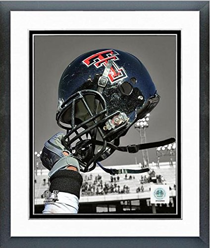 Texas Tech Red Raiders Football Helmet Spotlight Photo (Size: 12.5