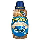 pops corn - Pop Secret Big and Fluffy Jumbo Popping Corn (30 oz Jar) Free 1/2 Cup Measuring Cup