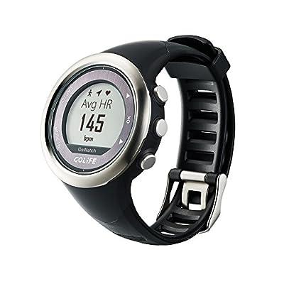 GOLiFE Running GPS Watch Waterproof Adventurer Outdoor Smart Sport Watch for Men Triathlon Swimming Climbing Hiking Cycling and Running (820i(Silver))