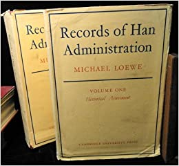 Image result for Records of Han Administration; volume I Historical Assessment