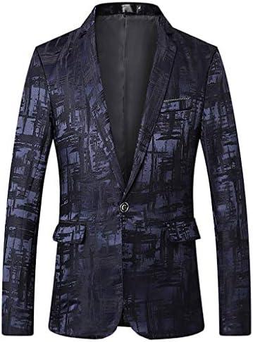 [해외]SPE969 Men Blazer Suits Stylish Solid Business Wedding Party Outwear Jacket Tops / SPE969 Men Blazer Suits Stylish Solid Business Wedding Party Outwear Jacket Tops Blue